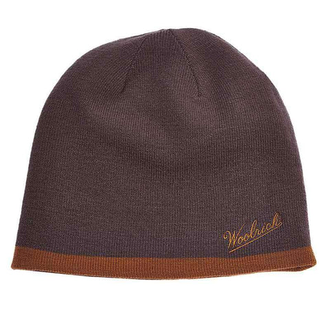 Woolrich®Knit Reversible Beanie - Nickel