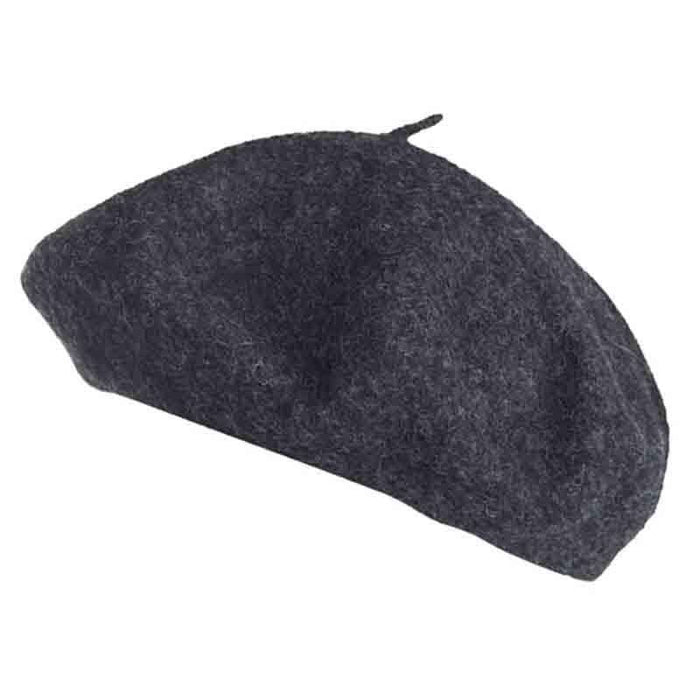 Unisex Classic French Wool Beret - Angela & William