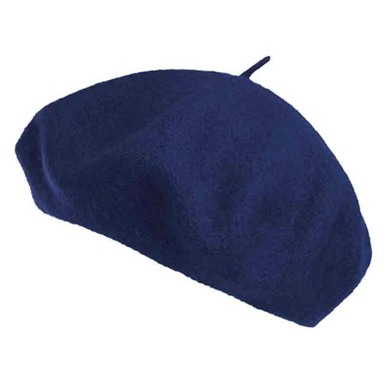 Unisex Classic French Wool Beret