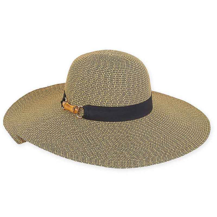 Wide brim straw floppy beach hat in large sizes for women sun n sand headwear.jpg