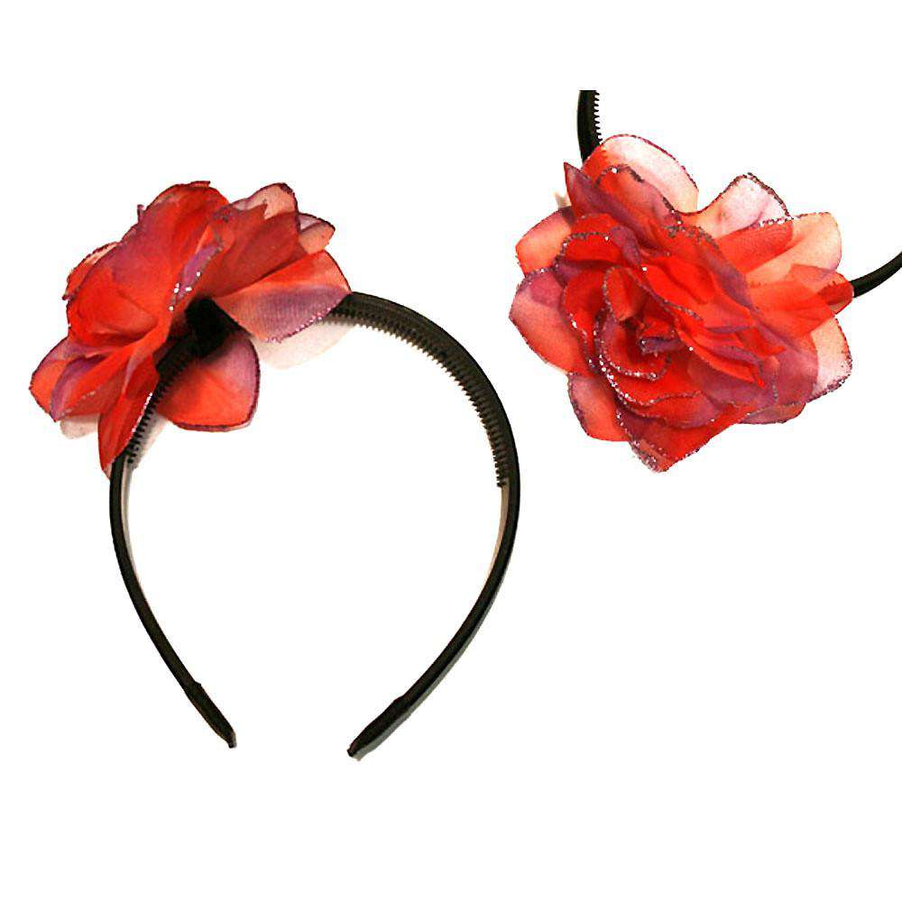 Glitter Flower Head Band - SetarTrading Hats