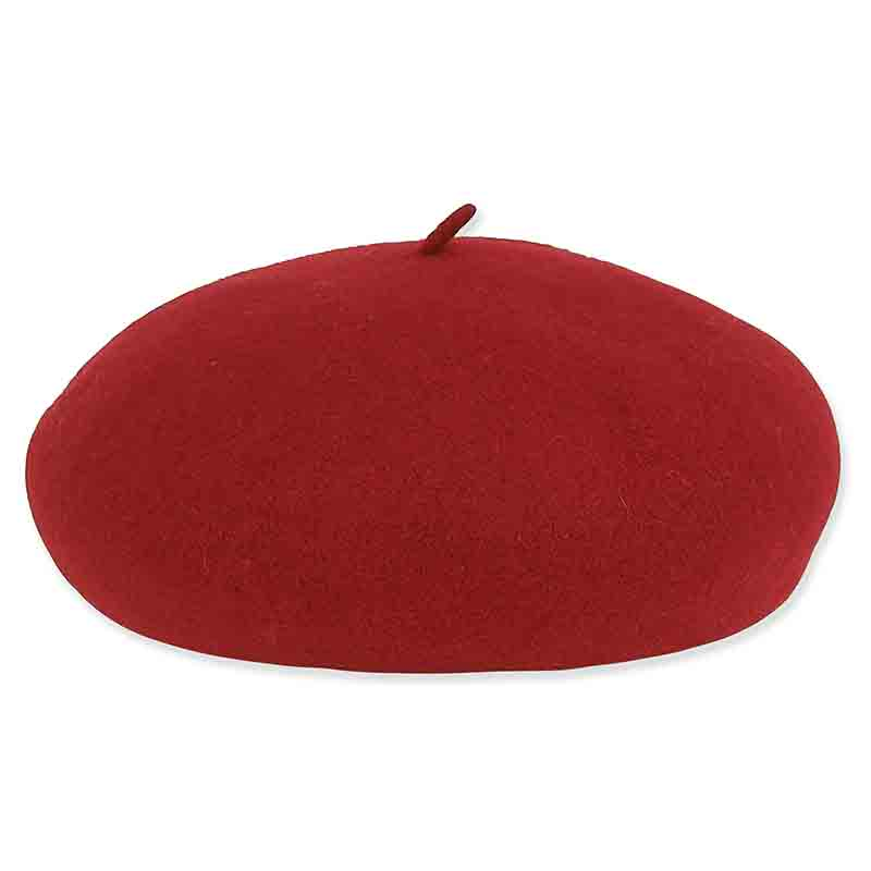 ad1030 adora hats soft wool french beret red