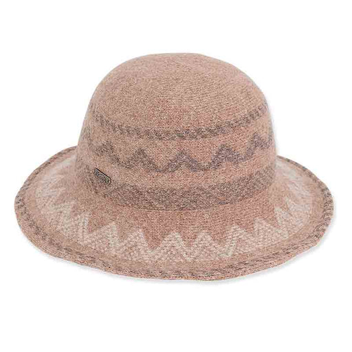 ad1058 adora hats multi colored soft wool bucket hat