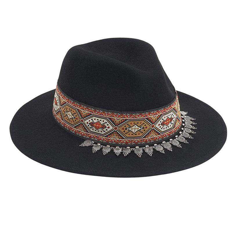 Tribal Pattern Safari Outback Hat by Adora® - Women s Fall-Winter Hats d8748e0890a
