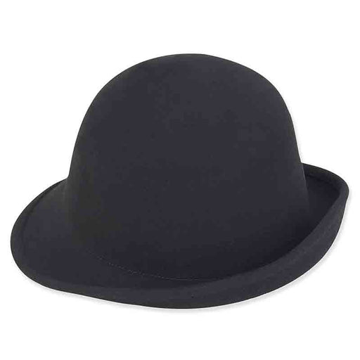 ad969a adora hats shapeable wool felt cloche black