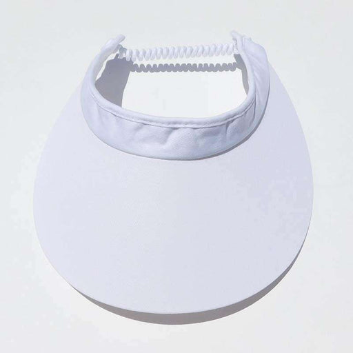 "Cotton Sun Visor with Coil Lace for Women by Andrea's Hat Shop - 4"" Brim - SetarTrading Hats"