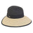 Two Tone Backless Facesaver Hat - Sun'N'Sand®