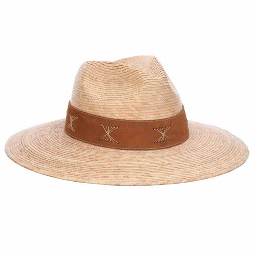 bianca palm safari hat for women by brooklyn hat