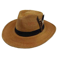 Folk Palm Outback Hat - Biltmore Hats