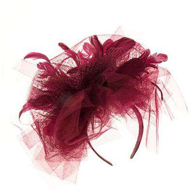 Large Horsehair and Feather Fascinator - SetarTrading Hats