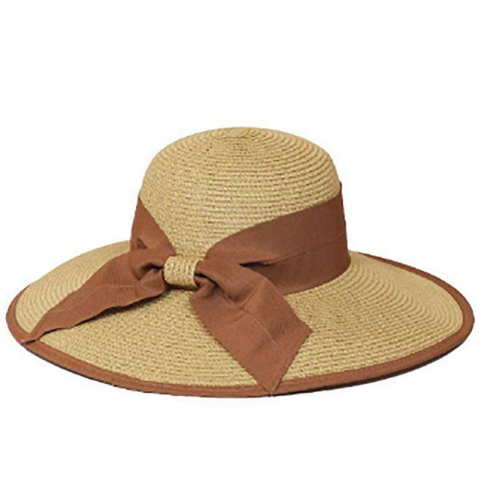 Double Ribbon Bow Summer Hat - SetarTrading Hats
