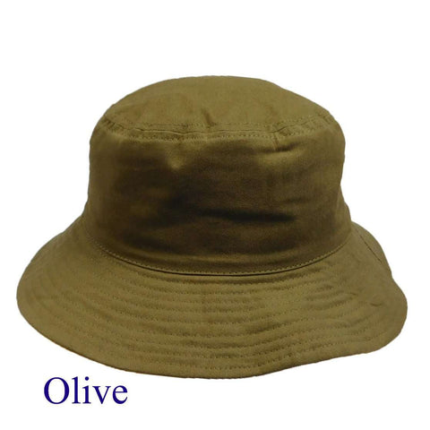 Reversible Cotton Bucket Hat Unisex