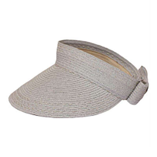 Rollup Sunvisor with Ribbon Accent