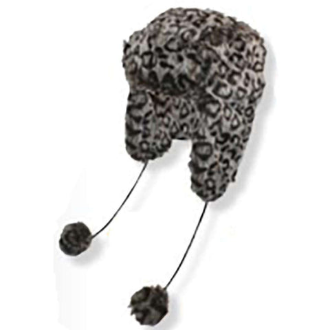 Cheetah Faux Fur Trapper Hat by JSA