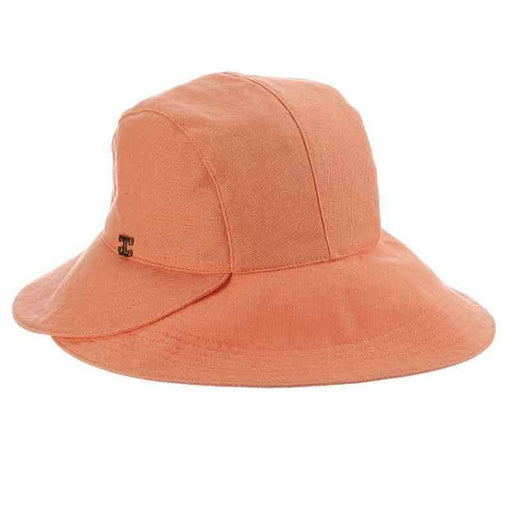 Chicopee Rough Cotton Split Brim Cloche Hat - Callanan