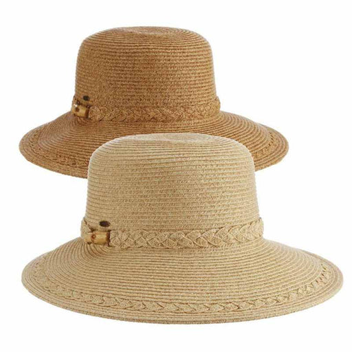 Scala summer hats cornwall asymmetrical brim sun protection hat