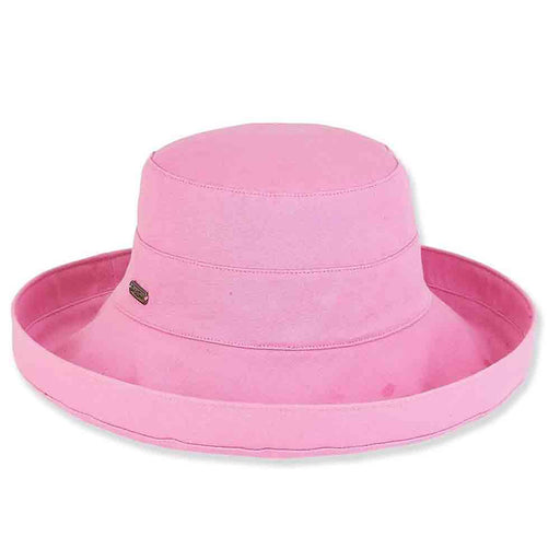 Classic Ladies Cotton Up Brim Hat - Sun 'N' Sand Hats
