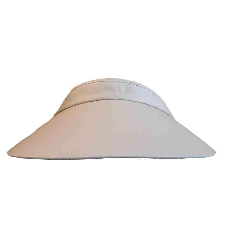Cotton Sun Visor with Coil Lace for Women by Andrea s Hat Shop - 4