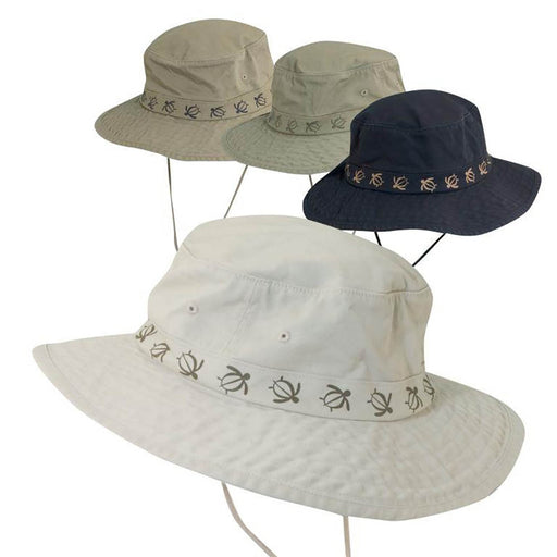 Cotton Boonie Hat with Turtle Tape Band - DPC Outdoor Hats
