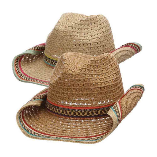 Crocheted Toyo Cowboy Hat - Cappelli Straworld