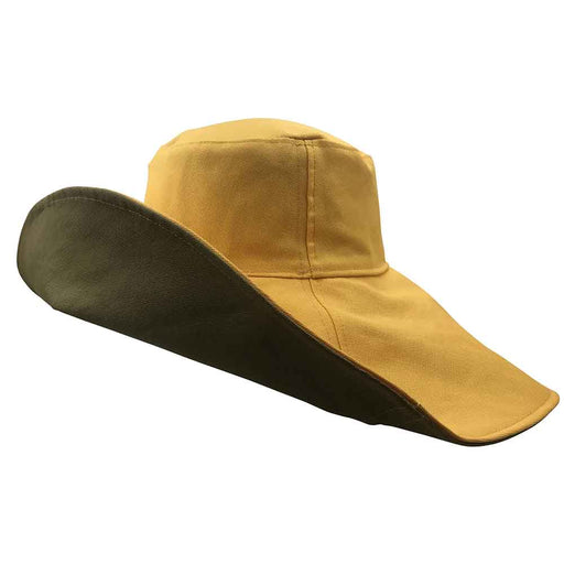 Daisy Eclipse Reversible Organic Cotton Resort Sun Hat - Flipside Hats