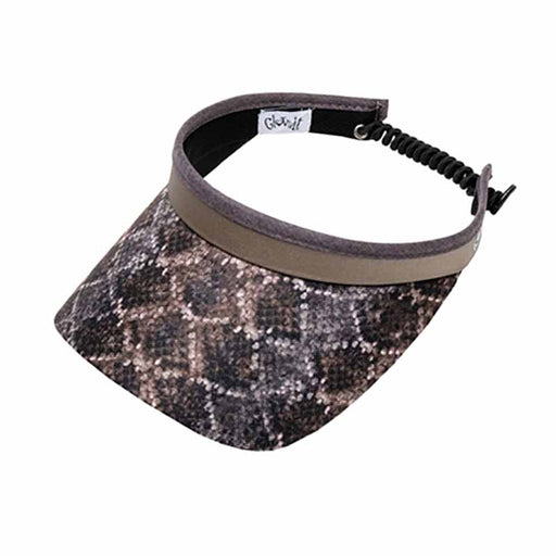 Diamondback Golf Sun Visor with Coil Lace by GloveIt