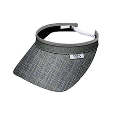 Silver Lining Golf Sun Visor with Coil Lace by GloveIt