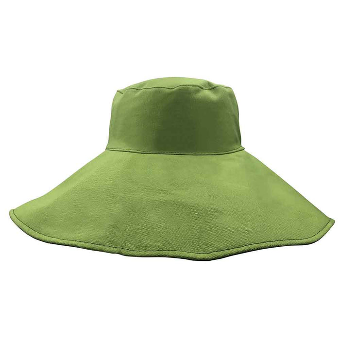 Eden Eclipse Reversible Organic Cotton Resort Sun Hat - Flipside Hats