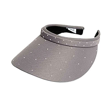 Crystal Bling Clip On Golf Sun Visor by GloveIt - SetarTrading Hats