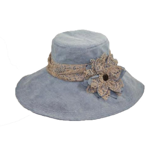 Lace Trim Travel Hat - JSA