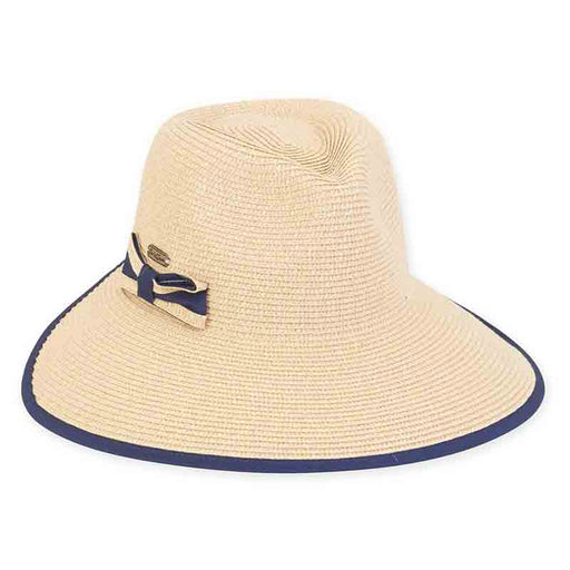 Backless Ponytail Hole Fedora Hat - Sun'N'Sand