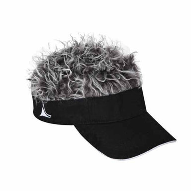 flair hair visor cotton sun visor with fake hair for men the original flairhair visor®.jpg