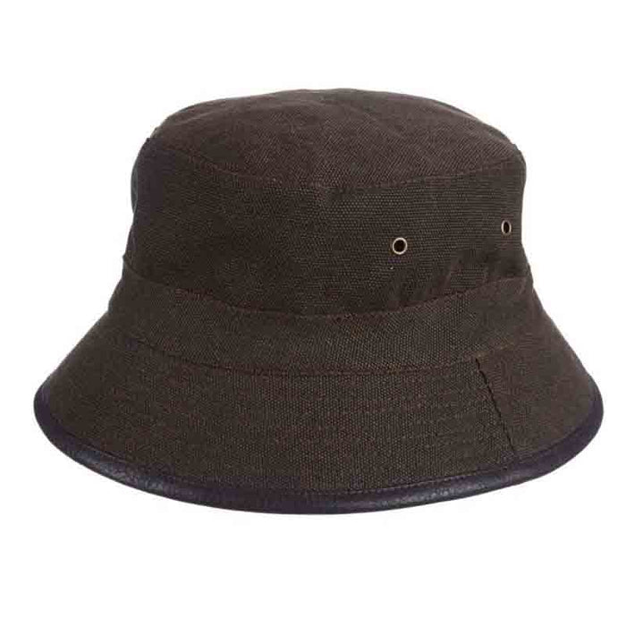 Fleecy Canvas Bucket Hat for Men - DPC Global