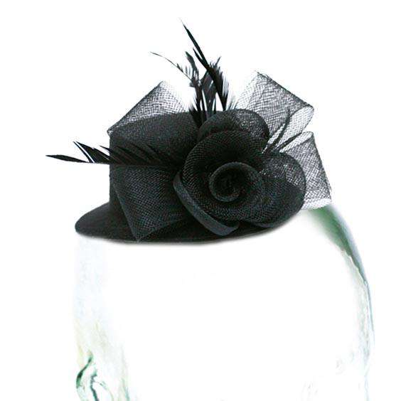 Mini Hat with Mesh Flower - SetarTrading Hats