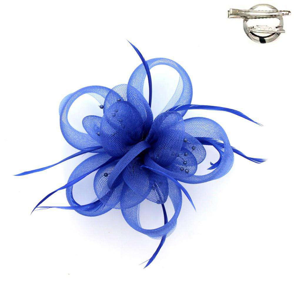 Loopy Mesh Flower Brooch - SetarTrading Hats