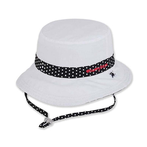 Girls Reversible Polka Dot Cotton Bucket Hat - Sunny Dayz™