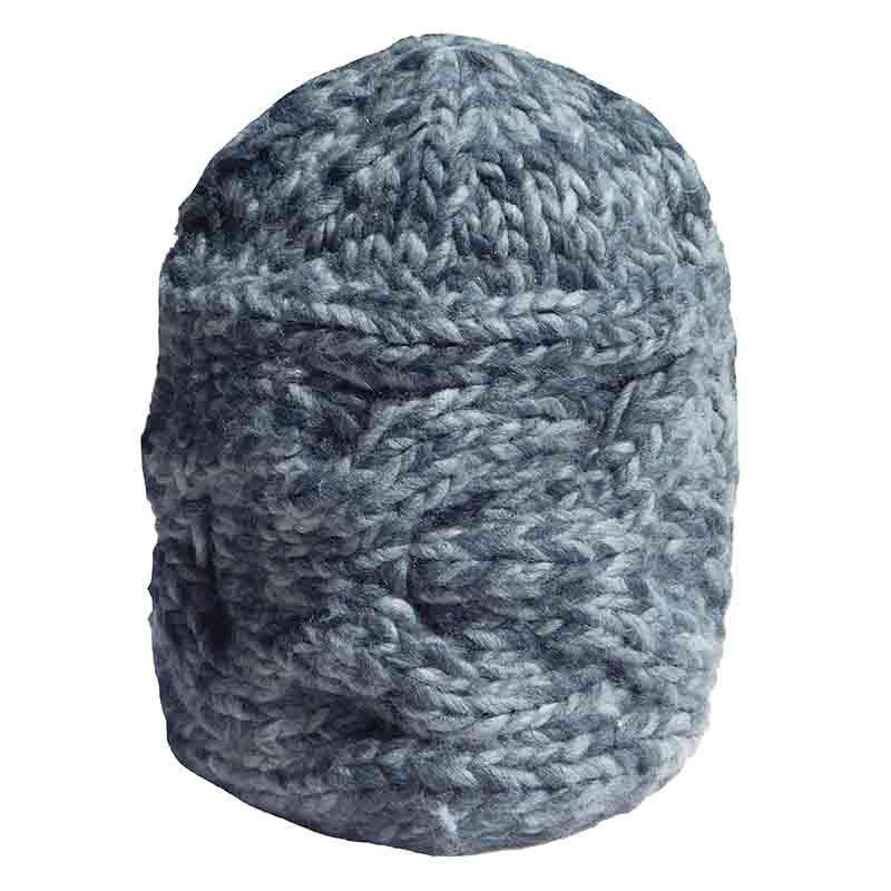 Cable Knit Beanie by JSA - Mixed Grey - SetarTrading Hats