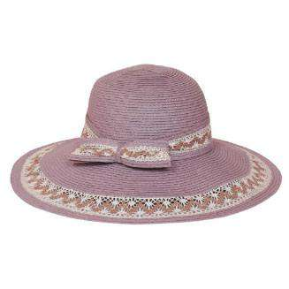 Lace Trimmed Summer Floppy Hat - SetarTrading Hats
