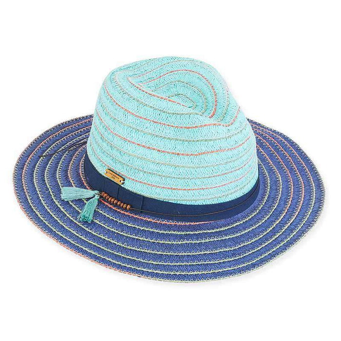 Savannah Colorful Island Safari Hat - Caribbean Joe®