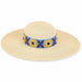 Cole Sunflower Embroidered Beach Hat - Caribbean Joe® - SetarTrading Hats