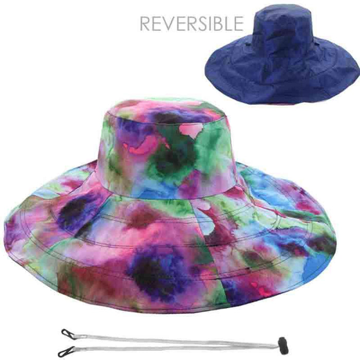 ecb7c0d6cce Reversible Sun Hat - Floral Print and Solid Color — SetarTrading Hats