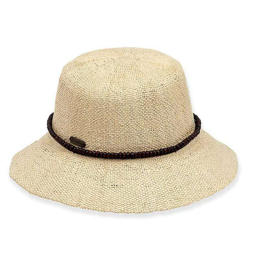 Bryn Wowen Bangkok Toyo Bucket Hat with Beads - Sun 'n' Sand® - SetarTrading Hats