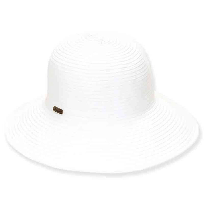 Sewn Ribbon Packable Shapeable Sun Hat - Sun 'n' Sand®
