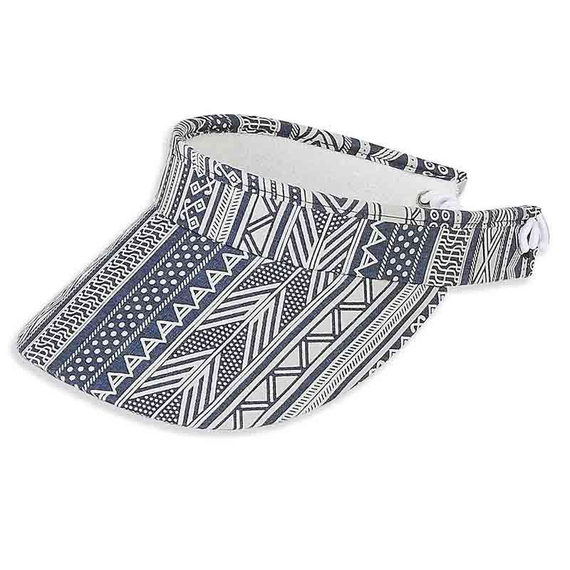 Emma Cotton Sun Visor with Curly Lace Closure - Sun 'N' Sand