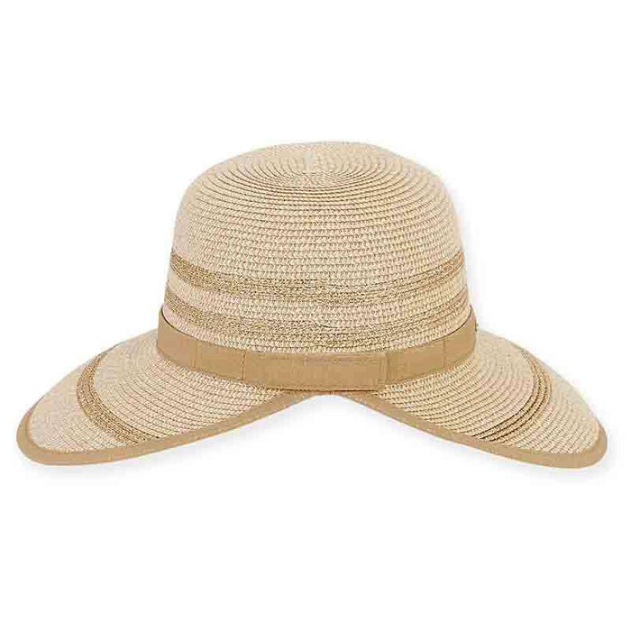 Ponza Sun Savor with Metallic Ribbon Trim - Sun 'n' Sand®