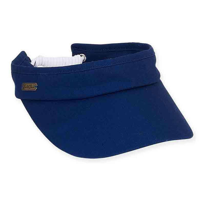 Pace Cotton Sun Visor with Coil Closure - Sun 'N' Sand