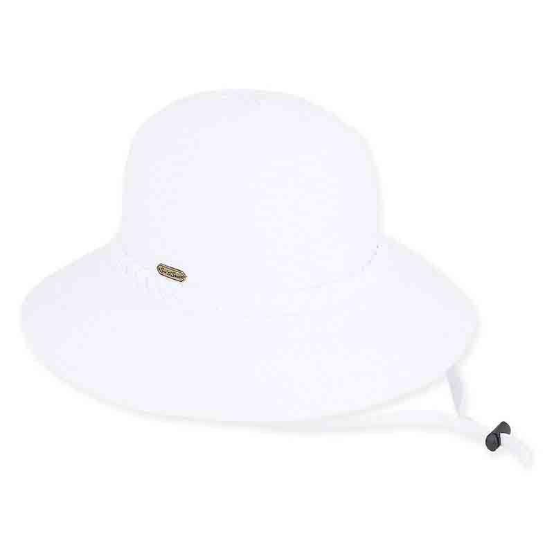 87679df0546 Charlie Ribbon Bucket Hat with Chin Cord by Sun  N  Sand - SetarTrading Hats