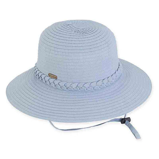 505583af Charlie Ribbon Bucket Hat with Chin Cord by Sun 'N' Sand - SetarTrading Hats