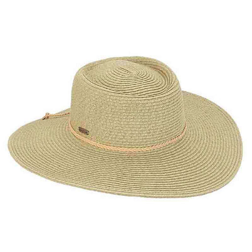 Cativa Flat Crown Floppy Hat - Sun 'n' Sand - SetarTrading Hats