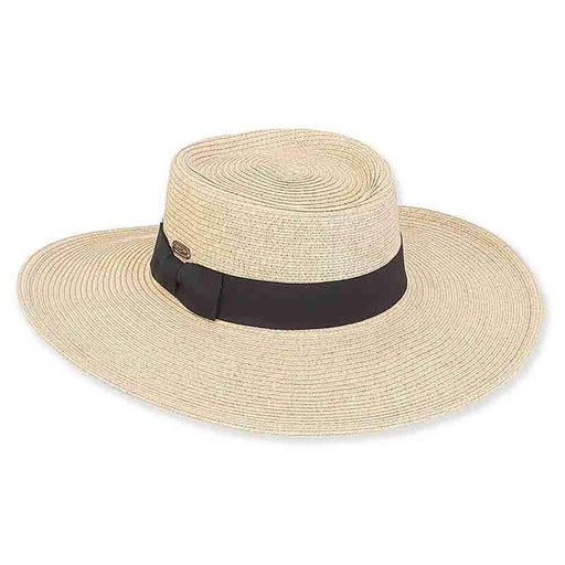 Chitre Flat Crown Summer Gaucho Hat - Sun 'n' Sand - SetarTrading Hats